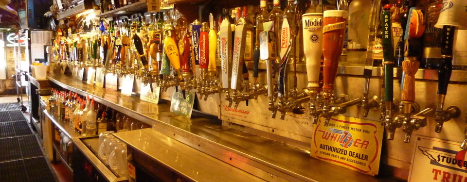 Dive Bar Beer Taps