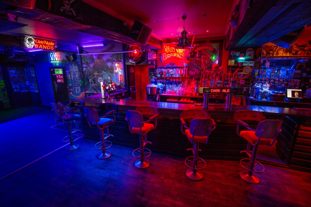 Dive Bar Interior