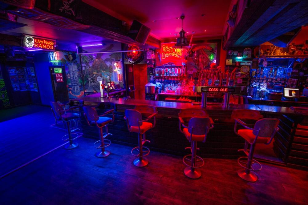 Dive Bar Interior