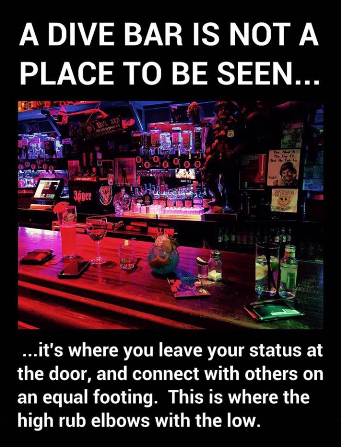 Definition of a Dive Bar