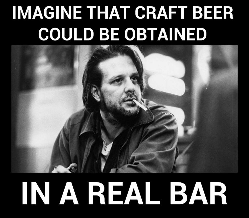 Craft Beer in a Dive Bar?