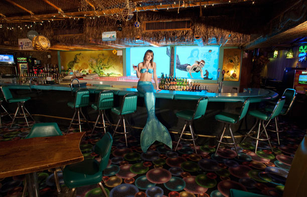Bespoke Dive Bar Interior